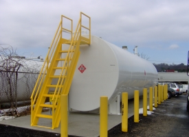 Installed Fuel Storage Tank